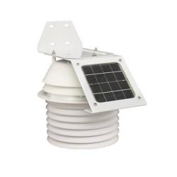 Sensor de temperatura / humedad con carcasa de protección radiológica